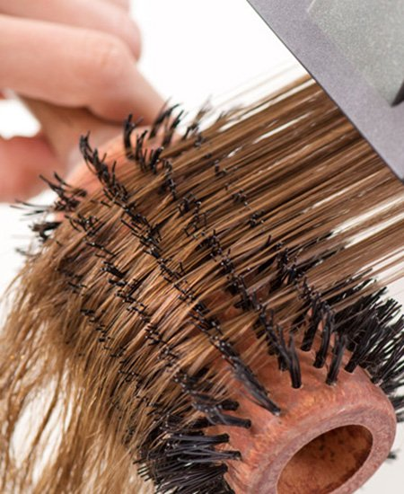 Blow-dry hair services
